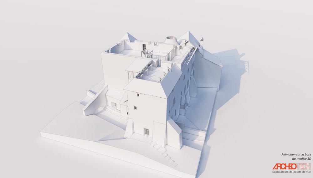 Maison du prieur architecture